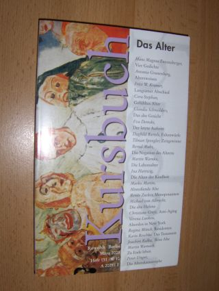 Enzensberger, Hans Magnus und Ina Hartwig: SONDERNUMMER Kurzbuch - Heft 151: Das Alter. Mit Beiträge.