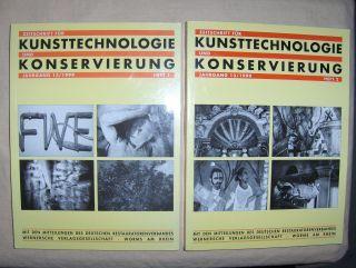 Werner (Redaktion), Ferdinand, Karl-Werner Bachmann Helmut F. Reichwald u. a.: Zeitschrift für KUNSTTECHNOLOGIE und KONSERVIERUNG *. Jahrgang 13/1999 Hefte 1 u. 2.