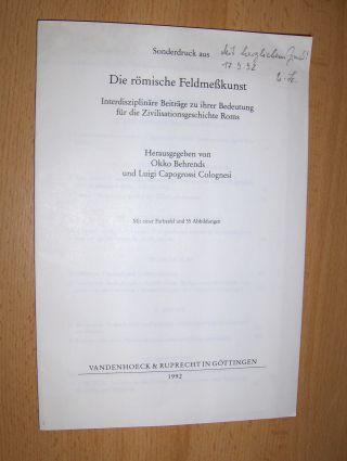 Hübner, Wolfgang: Himmel und Erdvermessung *. + AUTOGRAPH. SONDERDRUCK zur Interdisziplinäre Beiträge zu ihrer Bedeutung für die Zivilisationsgeschichte Roms. Extraits - Estratto.