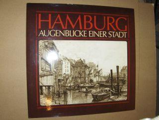 Jahnke (Hrsg.), Andres W.: HAMBURG. AUGENBLICKE EINER STADT. 1882-1894. In 50 Zeichnungen von Johann Theobald Riefesell *.