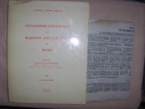 Sirjean, Dr. Gaston und Dr. M. Dugast Rouille (Preface): LES ILLEGITIMES (Valois et Bourbon) *.