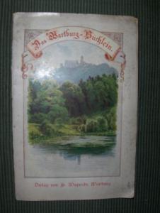 Das Wartburg-Büchlein - Sancta Elisabeth . Die sieben Werke der Barmherzigkeit der Heiligen Elisabeth. Wandgemälde auf der Wartburg. Ausgeführt von Moritz von Schwind.