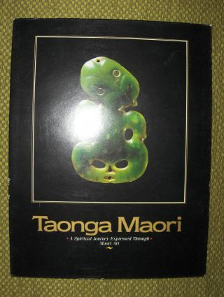 Cooper, Wiremu, Janet Davidson Arapata Hakiwai a. o.: Taonga Maori. A Spiritual Journey Expressed Through. Maori Art. Treasures of the New Zealand Maori People *.