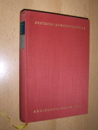 Hootz (Hrsg.), Reinhardt: RHEINLAND-PFALZ SAAR *. EIN BILDHANDBUCH.