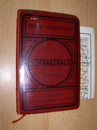 Meyers, Reiseführer: Meyers Reisebücher: SCHWARZWALD, Odenwald, Bergstrasse, Heidelberg und Strassburg.