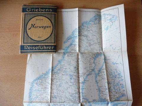 Grieben und Albert Goldschmidt (Verleger): Griebens Reiseführer. Band 146 - NORWEGEN. 15. AUFLAGE MIT 9 KARTEN *.