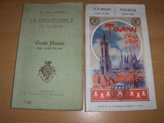 Moriame (1), E.J. Soil de: 2 HEFTE / 2 BROCHURES VILLE DE TOURNAI (avant la Grande Guerre): 1) LA CATHEDRALE DE TOURNAI - Guide Illustre du Visiteur (1911) // TOURNAI VILLE D`ART - TOURNAY Town of Arts - TOURNAI Kunst Stadt (1913) *.