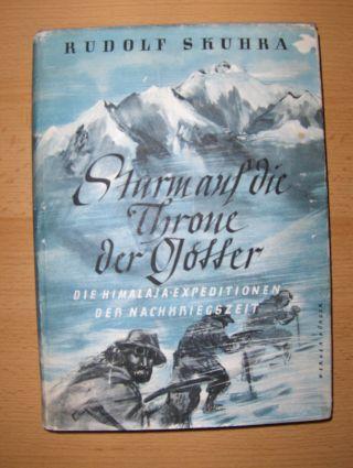Skuhra, Rudolf: Sturm auf die Throne der Götter.