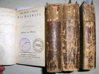 Herder, Johann Gottfried von: (Sämmtliche Werke). Zur Philosophie und Geschichte. 4 Bände: Komplett von 1. Theil bis 8. Theil.