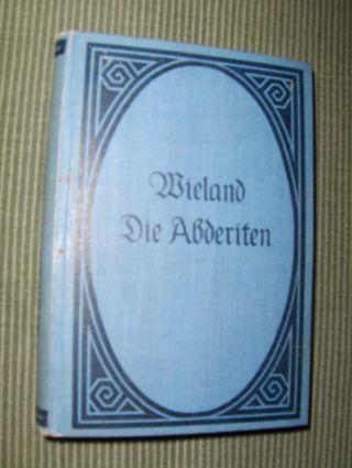 Wieland, Christoph Martin: Die Abderiten