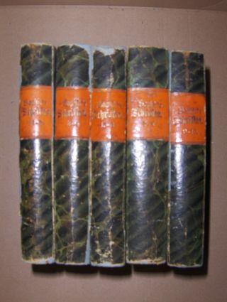 Saphir *, M. G. Moritz Gottlieb: Ausgewählte Schriften (Cabinets-Ausgabe) in zehn Bänden. Komplett !