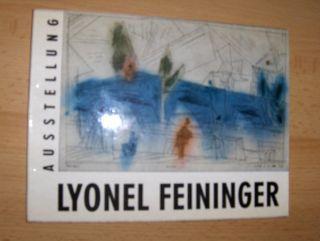 Pfefferkorn (Text), Dr. Rudolf: AUSSTELLUNG LYONEL FEININGER *. Aquarelle Zeichnungen Lithographien Radierungen.