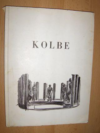 Pinder, Wilhelm und Margrit Schwartzkopff (Aufnahmen): GEORG KOLBE * - WERKE DER LETZTEN JAHRE. Mit Betrachtungen über Kolbes Plastik.