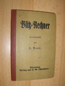 Beer (Hrsg.), O.: Blitz-Rechner.