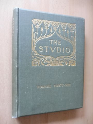 Offices of The Studio: THE STUDIO - AN ILLUSTRATED MAGAZINE OF FINE AND APPLIED ART. VOLUME FORTY-ONE (XLI) *.