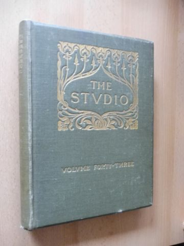 Offices of The Studio: THE STUDIO - AN ILLUSTRATED MAGAZINE OF FINE AND APPLIED ART. VOLUME FORTY-THREE (XLIII) *.