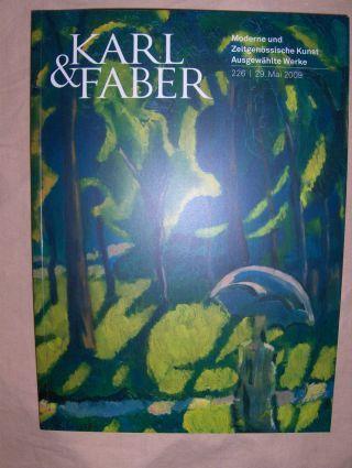 AUKTION 226 : Moderne und Zeitgenössische Kunst - Gemälde, Aquarelle, Zeichnungen, Graphik und Skulpturen - Ausgewählte Werke *.