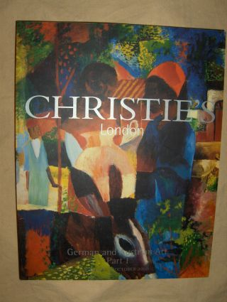 CHRISTIE`S GERMAN & AUSTRIAN ART PART 1 *. London, 17 October 2000.