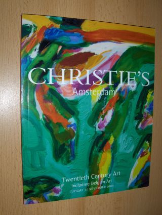 CHRISTIE`S Twentieth Century Art *. Amsterdam, Tuesday 30 November 2004.