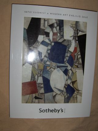 SOTHEBY`S IMPRESSIONIST AND MODERN ART EVENING SALE *. New York, 7 May 2008.