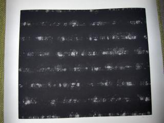 """Original-Radierung (Hrsg.), Verein für: RAIMUND REITER *. ORIGINAL - (Schwarz-Braun-Weiß) - AQUATINTA : """"An die Nacht"""". Signiert u. numer."""
