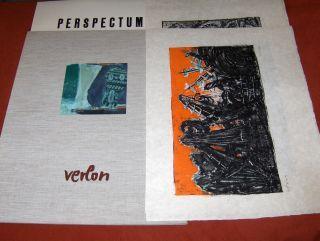 Verlon (Willy Verkauf) *, Andre: ANDRE VERLON (WILLY VERKAUF) * : PERSPECTUM - 12 Lithographies Originales - MAPPE MIT 12 ORIGINAL-LITHOGRAPHIEN IM FORMAT 50 x 65 cm - VORZUGSAUSGABE A - 30 Exemplaren auf JAPAN - SIGNIERT U. NUMERIERT (Bleistift) - Ausgab 0