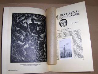 Westen, W. von zur: EX LIBRIS Buchkunst und Angewandte Graphik. Ex Libris Jahrgang 37 Neue Folge Jahrgang 1921.