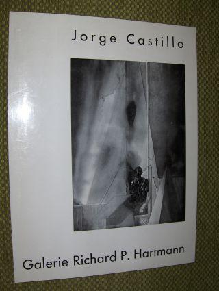 Hartmann *, Richard P.: JORGE CASTILLO ÖLBILDER AQUARELLE ZEICHNUNGEN + BEILAG *.