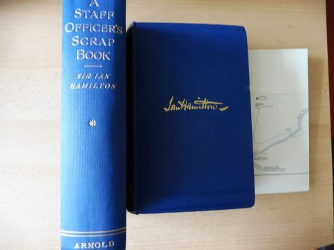 Hamilton, K.C.B., Lieut.-General Sir Ian: A STAFF OFFICER`S SCRAP-BOOK - DURING THE RUSSO-JAPANESE WAR. 2 Volumes / 2 Bände. WITH ILLUSTRATIONS, MAPS AND PLANS.