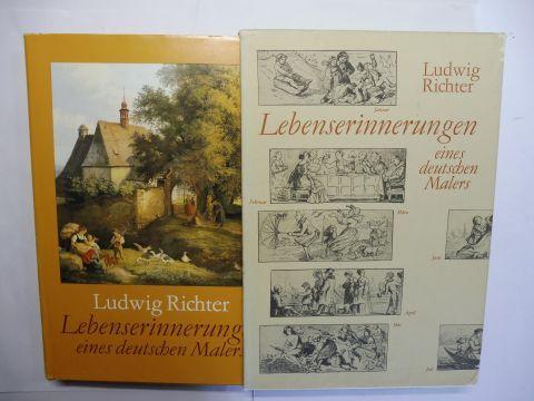 Wagner (Hrsg.), Karl: Ludwig Richter - Lebenserinnerungen eines deutschen Malers. Erweitert um einen Auszug aus den Ergänzungen von der Hand des Sohnes Heinrich Richter - Mit Wiedergaben aus dem graphischen und dem malerischen Werk.