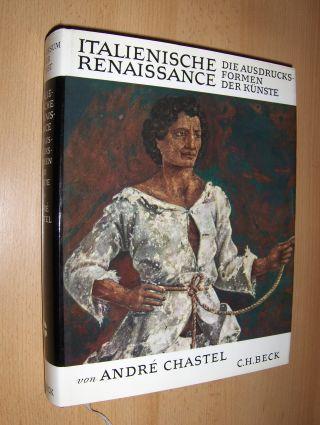 Chastel, Andre und Dr. Hanno-Walter Kruft (Wiss. Berater): ITALIENISCHE RENAISSANCE *. DIE AUSDRUCKSFORMEN (Ausdrucks-Formen) DER KÜNSTE IN DER ZEIT VON 1460 BIS 1500.