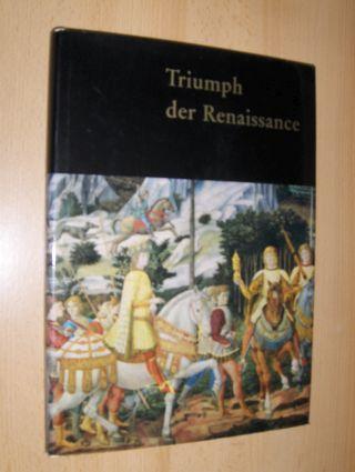 Lindemann, Gottfried: Triumph der Renaissance. Meisterwerke der bedeutendsten italienischen Maler des 15. Jahrhunderts, 44 Farbtafeln, 36 einfarbige Reproduktionen berühmter Gemälde und 43 Graphiken. Künstlerlexikon.