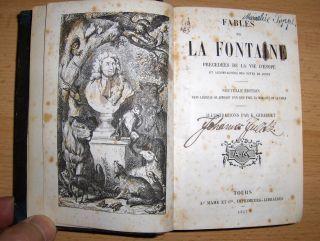 Fontaine, Jean de la: FABLES DE LA FONTAINE. ILLUSTRATIONS PAR K. GIRARDET.