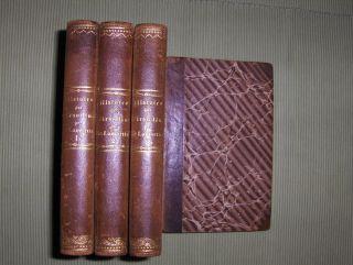 Lamartine, M. A. (Alphonse) de: HISTOIRE DES GIRONDINS. 4 Volumes.