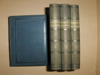 Lamartine, M. A. (Alphonse) de: HISTOIRE DES GIRONDINS. 5 Volumes.