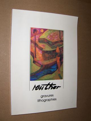 Flament (Vorwort), Andre und Andre Weber: Reuther gravures lithographies.