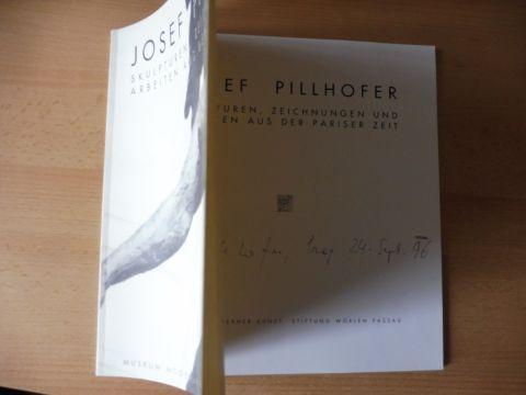 Kuchling, Heimo, Otto Breicha Josef Pillhofer (Verleger-Hrsg.) * u. a.: JOSEF PILLHOFER - SKULPTUREN, ZEICHNUNGEN UND ARBEITEN AUS DER PARISER ZEIT. + AUTOGRAPH *.
