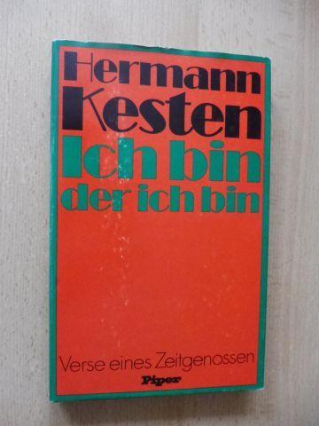 Kesten, Hermann: Ich bin der ich bin - Verse eines Zeitgenossen.