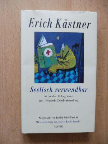 Kästner Erich Teofila Reich Ranicki Ausgewählt Und Marcel Reich Ranicki Essay Erich Kästner Seelisch Verwendbar 66 Gedichte 16 Epigramme