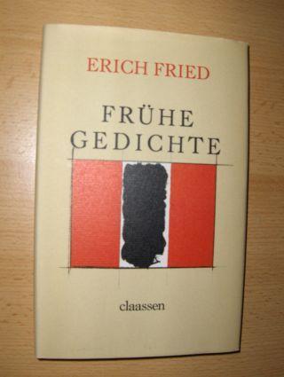 Fried, Erich: Frühe Gedichte.
