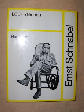 Schnabel, Ernst: Die Nachrichten aus der Gesellschaft - HURRICANE * oder Schwierigkeiten mit der Fiktion.
