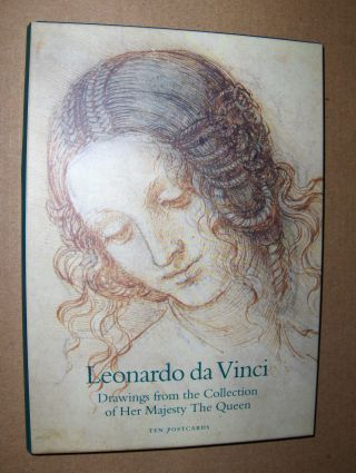 Leonardo da Vinci (1452-1519). Drawings from the Collection of Her Majesty The Queen. Ten Postcards.