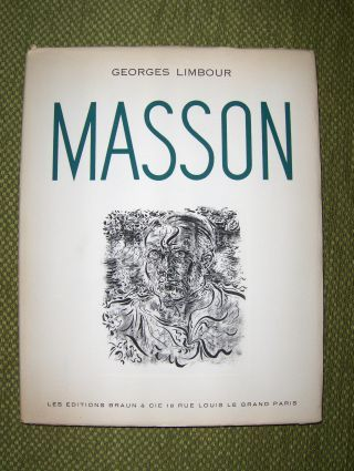 Limbour, Georges: (Andre) MASSON DESSINS *.