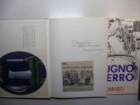 Caruso, Bruno: IL PUGNO DI FERRO - 65 DISEGNI DI BRUNO CARUSO - SULL`ITALIA, LA FRANCIA (Guerre d`Algerie, OAS...), GLI U.S.A., IL MESSICO, LA GERMANIA, L`INGHILTERRA, LA SPAGNA, IL CONGO, L`IRAN, HONG-KONG, L`INDIA E IL GIAPPONE. + AUTOGRAPH *.