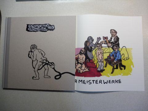 ter Haar, Lene, Fransman / Huitjs und Kati Heck *: Kati Heck - Bonzenspeck und Prollgehabe. 23 Lino-Block Prints.