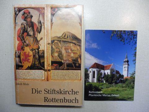 Mois, Jakob, Albrecht Barnabas Bögle (Hrsg.) und Gebhard Schauer: Die Stiftskirche Rottenbuch. + Extra-Broschur *.