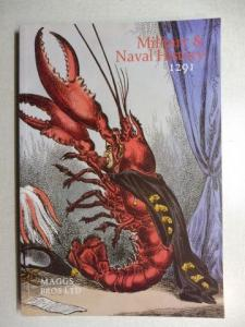 Maggs Bros Ltd.: MAGGS BROS CATALOGUE 1291 : MILITARY AND NAVAL HISTORY.