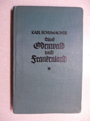 Schumacher, Karl: Aus Odenwald und Frankenland. Studienfahrten und Sonnentage in alten und neueren Kulturstätten.