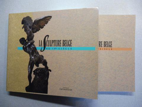 Van Lennep, Jacques (J.): LA SCULPTURE BELGE AU 19eme SIECLE. ESSAIS (Histoire Aspects Artistes et Oeuvres) + CATALOGUE (Artistes et Oeuvres). 2 Bände / 2 Volumes *.