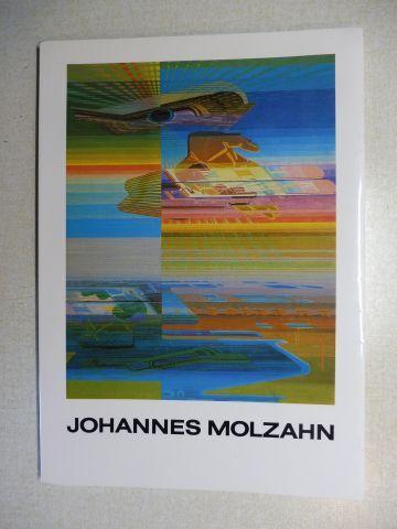 Reuter, Marianne, Herbert Schade Peter B. Steiner u. a.: JOHANNES MOLZAHN - Letzte Werke *.